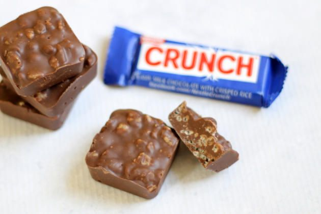 Homemade Nestle Crunch are the easiest candy bar to recreate at home. You'll be making this sweet treat up all the time!