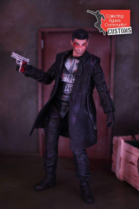 Netflix Punisher (Daredevil tv series) (Marvel Select) Custom Action Figure