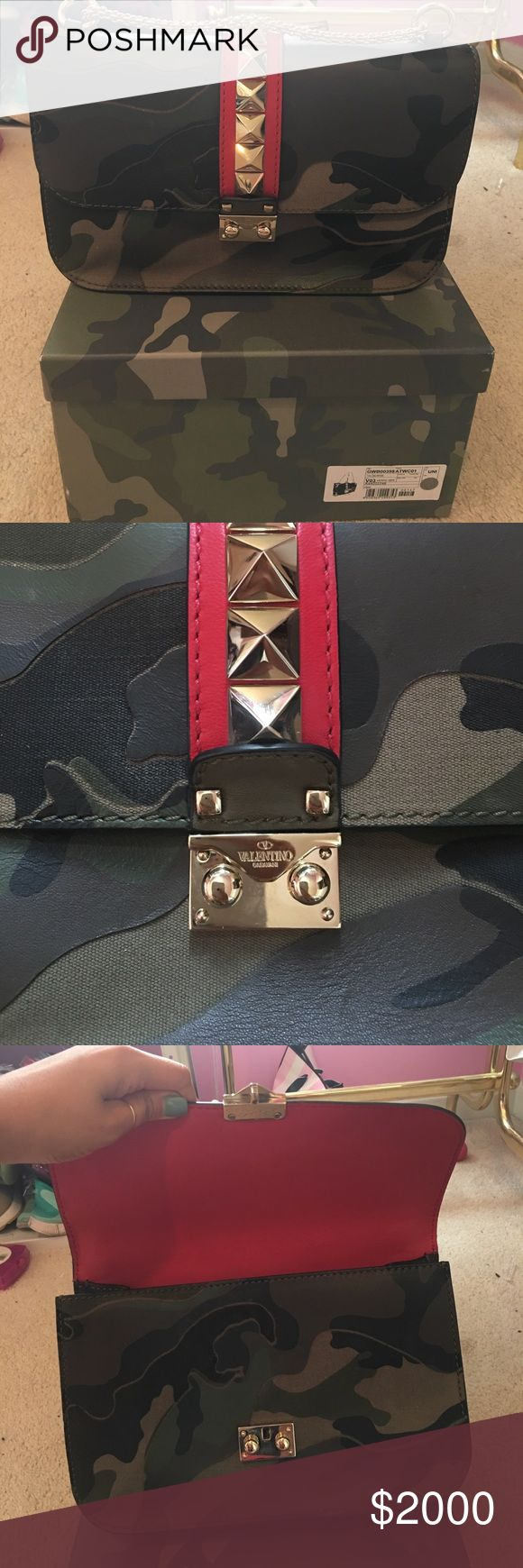 Valentino Camo Bag Valentino Rockstud purse (Camo color) comes with original box and dustbag Valentino Garavani Bags Shoulder Bags