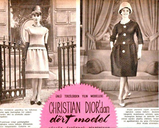 OĞUZ TOPOĞLU : christian dior paris 1960 senesi fransız modacılar...