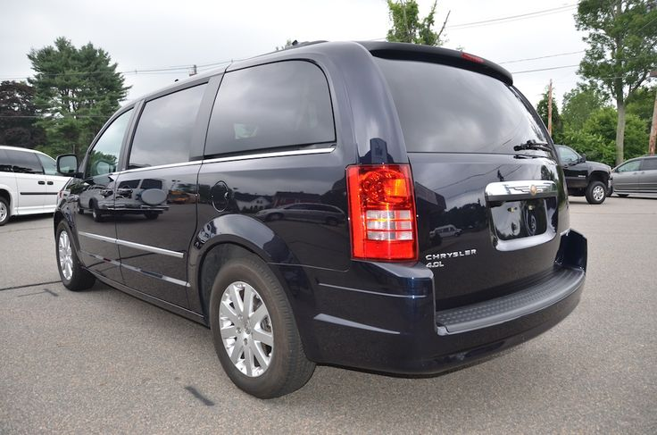 Rear Left Side View of the 2010 Chrysler Town and Country Touring PL For Sale