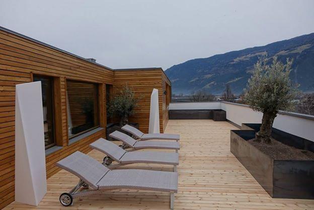 Relaxen auf dem Dach des DolceVita Hotel Feldhof