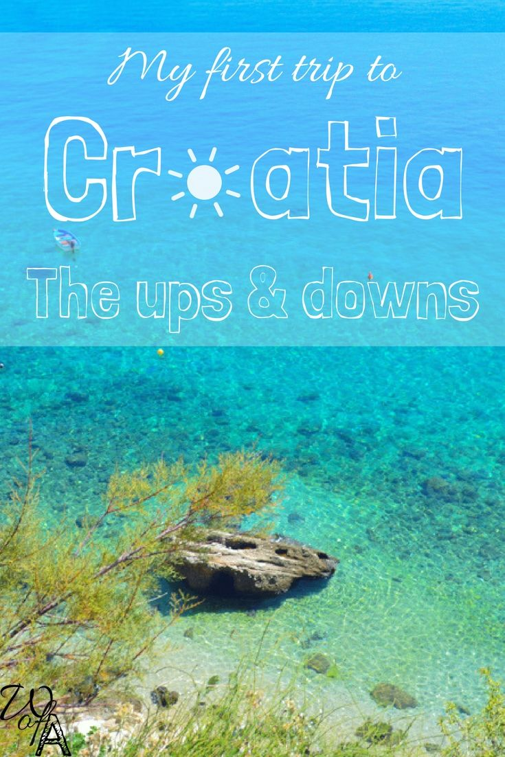 My very first trip to Croatia and my honest thoughts behind the experience.