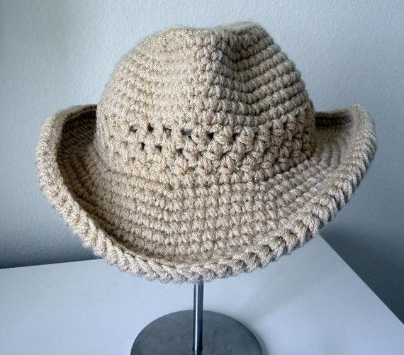 Cowboy Hat Crochet pattern-Permission to sell finished items.Immediat ...