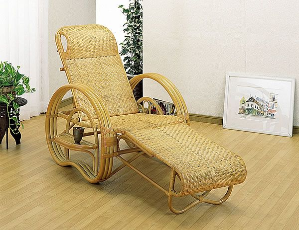 ii-kaguyahime | Rakuten Global Market: Deck Asian rattan recliner ...