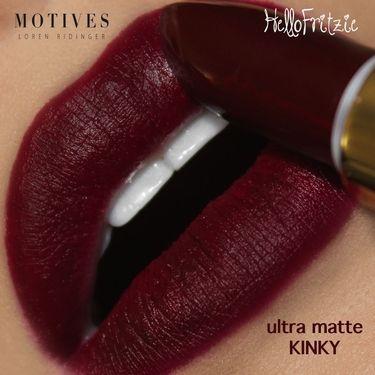 Motives Ultra Matte Lipstick in Kinky http://tamirahamilton.com/gtl