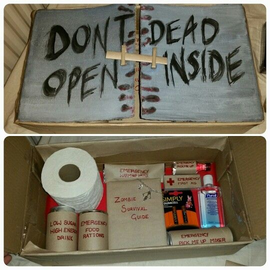 zombie survival kit gift