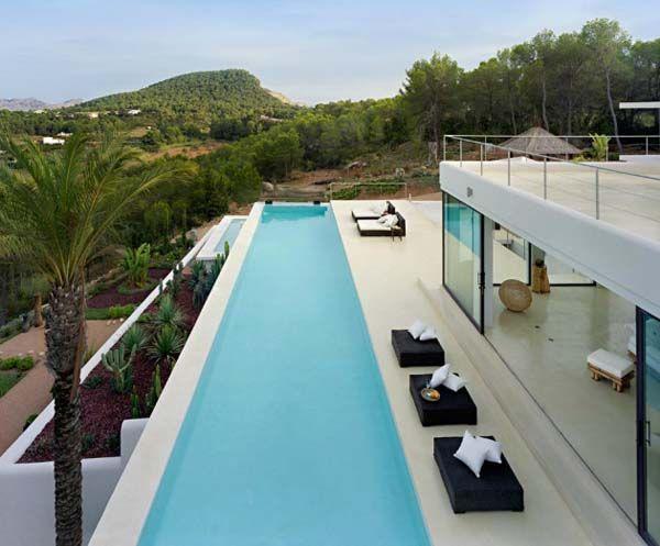 Casa Jondal, Ibiza, en Espagne, estudio « Atlant Del Vent ».