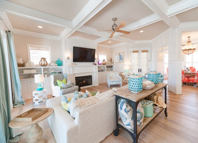 Family Room Strickland Homes