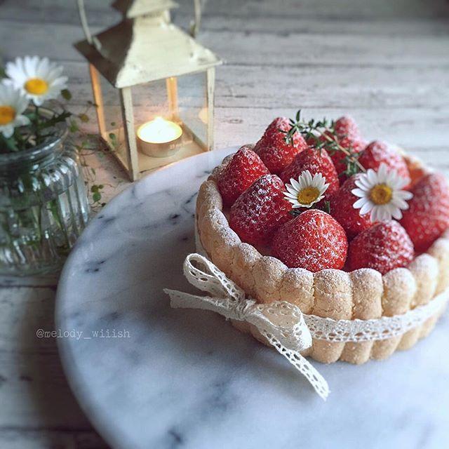 Instagram media by melody_wiiish - シャルロット ・オ・ フレーズ。 お誕生日ケーキとしてお作りさせていただきました。 バニラビーンズ香る優しい甘さのババロアをサクふわなビスキュイで囲み、甘酸っぱいイチゴを乗せた王道シャルロット。 #バニラ#ババロア#ビスキュイ#シャルロット#イチゴ#charlotte#biscuit#vanilla #手作りおやつ#スイーツ#おうちカフェ#手作りケーキ#手作りお菓子#セリア#strawberry#sweets#café#homemade#kurashiru#kurashirufood #lin_stagrammer #デリスタグラマー#delistagrammer #mystory_shots#instasweets