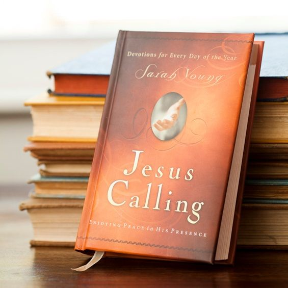 Jesus Calling - Devotional Book... was really blessed by this book!