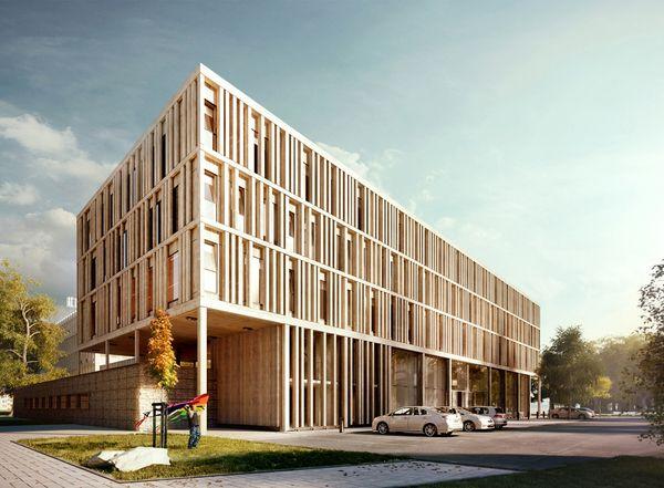 Galeria - Tecnologia e Arquitetura: Maison du Batiment d'Aquitaine / Pawel Podwojewski - 3