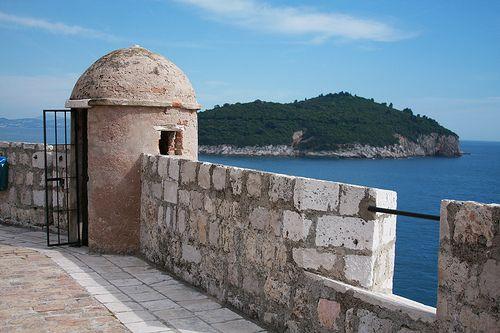 Walking the walls of Dubrovnik, Croatia