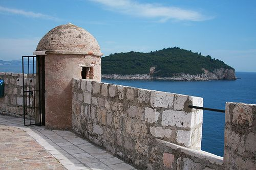 Walking the walls of Dubrovnik, Croatia