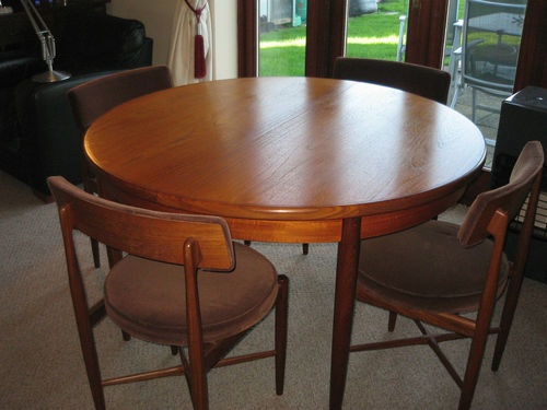 FABULOUS VINTAGE DANISH KOFOD LARSEN G PLAN DINING TABLE U0026 4 CHAIRS | EBay. Kitchen  TablesDining ...