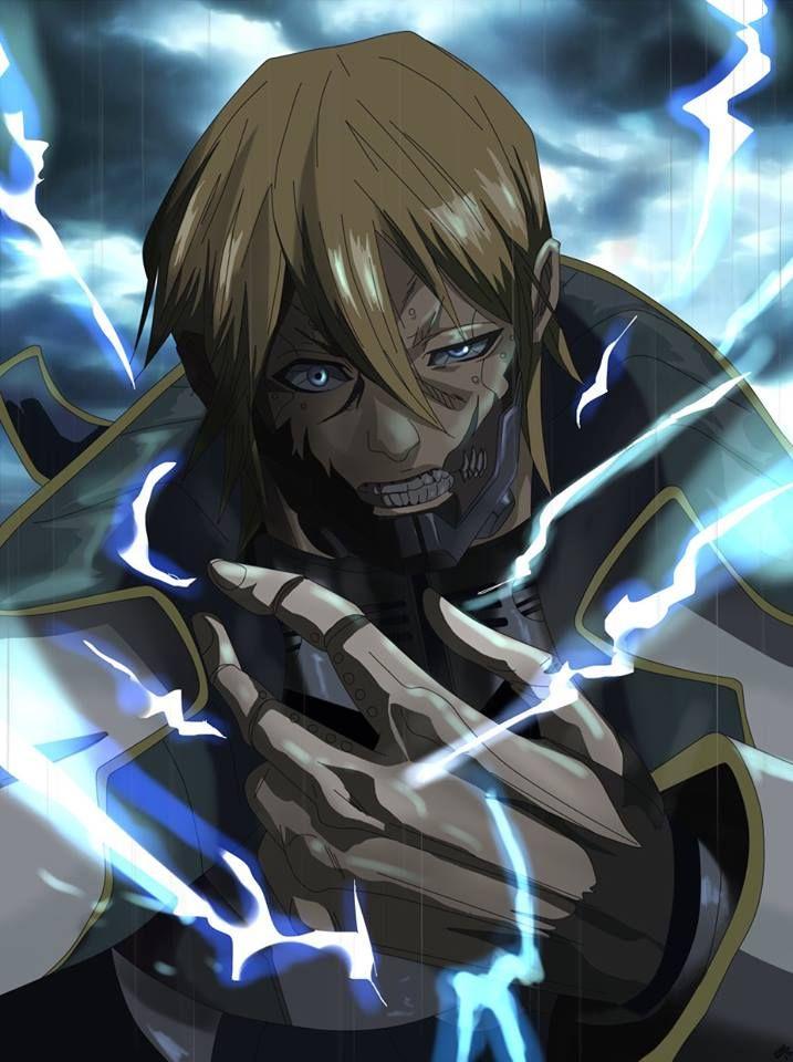 Adolf Reinhard Terra Formars In 2021 Terra Formars Anime Zelda Characters