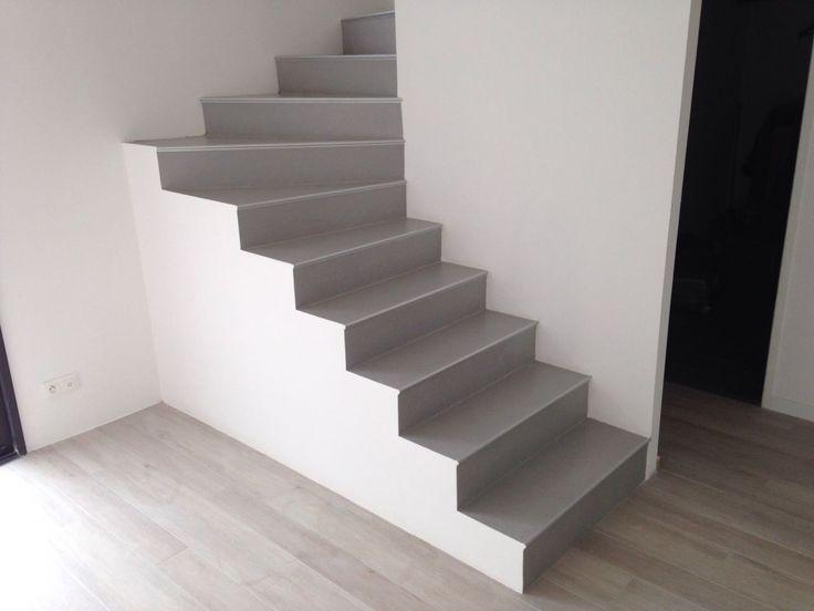Escalier terminé - Contemporaine dans l'ouest toulousain par Kaolla31 sur ForumConstruire.com