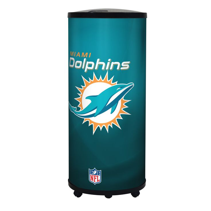 NFL Miami Dolphins 39.5-inch Ice Barrel Cooler