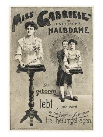 Vintage Freak Show Posters