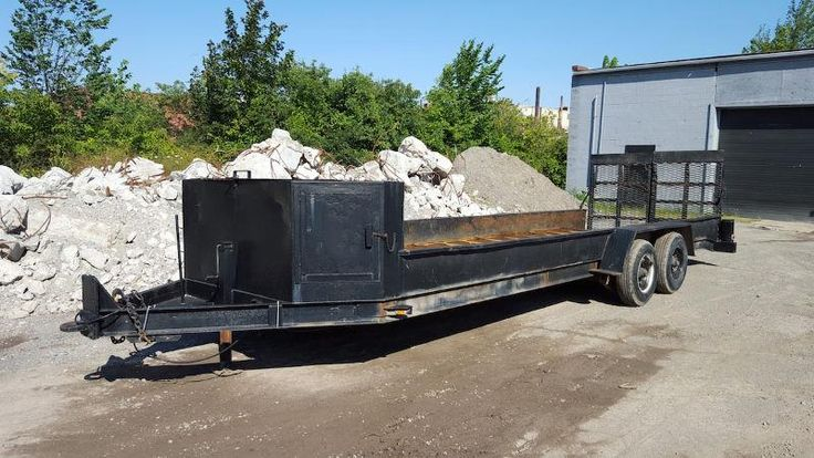 22 Ft Tandem Axel Landscape Trailer FOR SALE