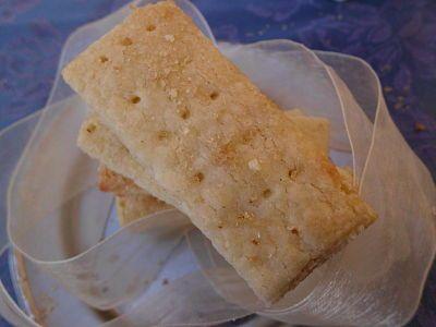 shortbread fingers biscotti