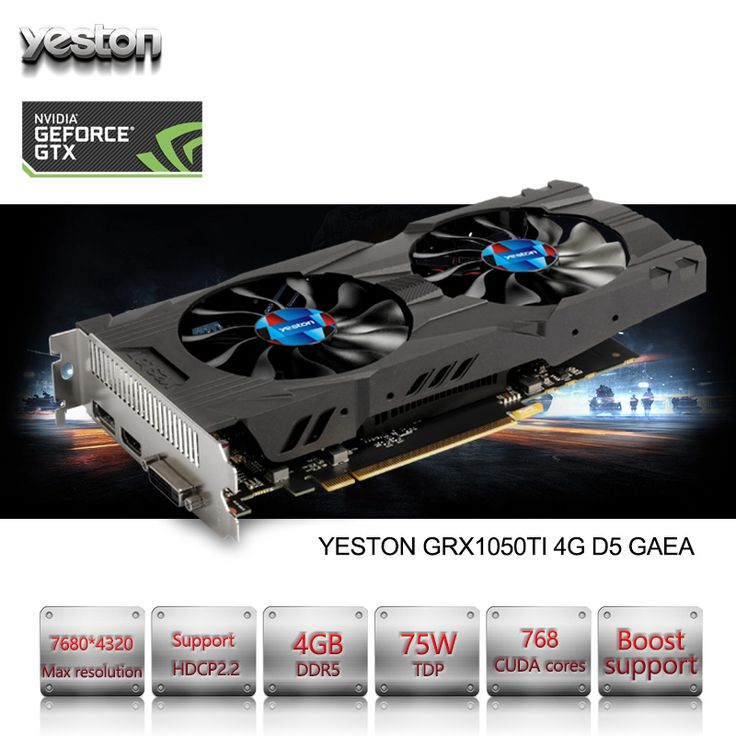 Yeston GeForce GTX 1050Ti GPU 4GB GDDR5 128 bit Gaming Desktop computer PC support Video Graphics Cards PCI-E X16 3.0 TI looks fine in design, features and function. The best accomplishment of this product is in fact simple to clean and control. The design and layout are totally astonishing that create it truly interesting and beauty...** View the item in details by clicking the VISIT button..