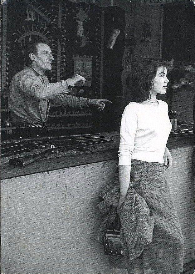.Izis Bidermanas - La fete foraine-Paris 1950