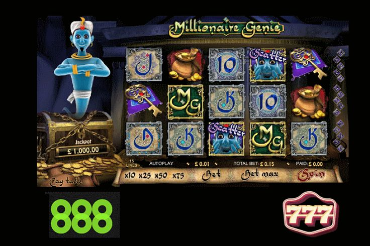 Free to play Progressive Jackpot slots as featured on 888 Casino and 777 Casino