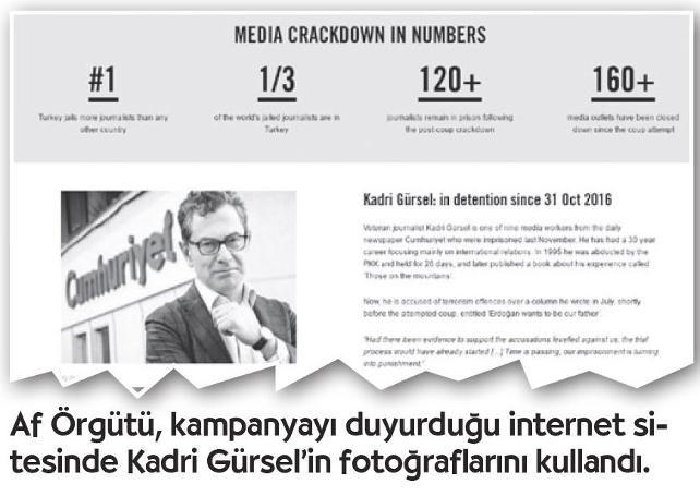 """Uluslararası Af Örgütü'nden kampanya: Gazeteciliğin ölümü - Cumhuriyet Dünya Haberleri  """"Sessizliğin hapishanesi: Türkiye'de gazeteciliğin ölümü"""""""