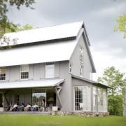 A modern farmhouse , photographs by Garden and Gun. So much about this, yes. I love the idea of a farmhouse made over or a barn made into a loft living space.