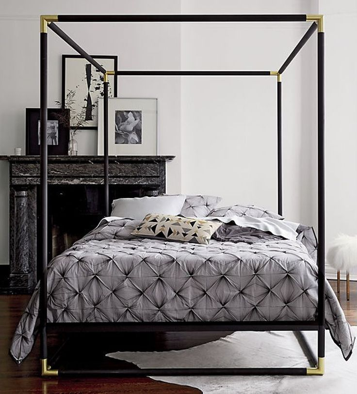 25 best ideas about modern canopy bed on pinterest canopy bedroom canopy beds and poster beds - Poster bed canopy ideas ...
