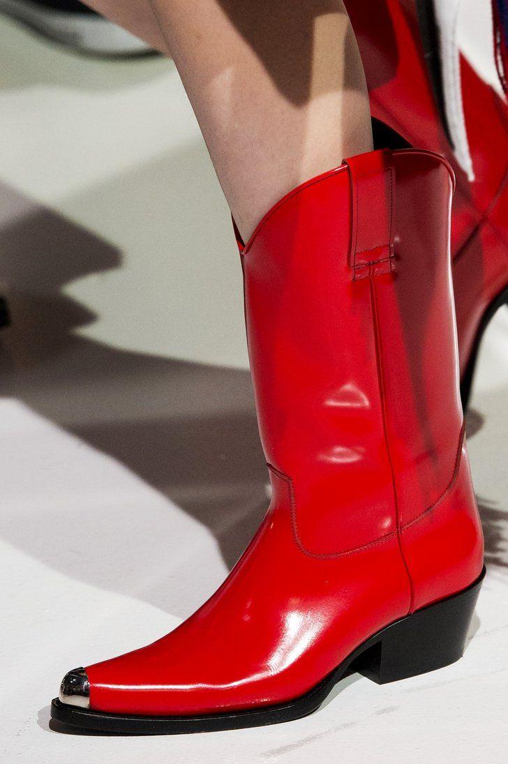 b0b92370371 Cowboy Boots: Calvin Klein | Cowboy boots with Design | Shoes, Boots ...