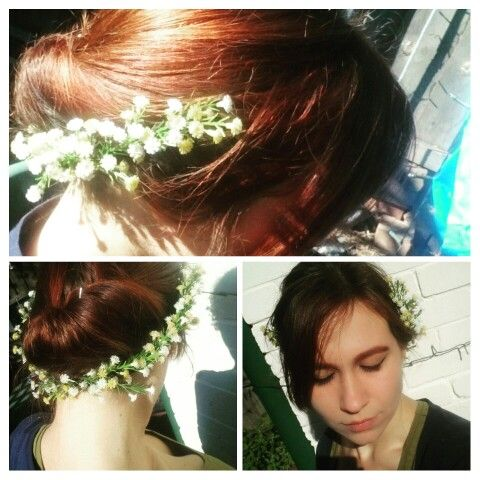 Another simple flower crown
