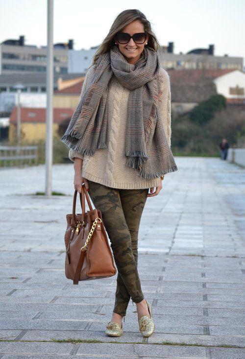 Zara  Scarves / Echarpes, Zara  Sweaters and Zara  Jeans