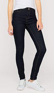 Super skinny in bleu foncé jean