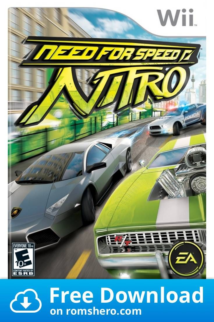 Download Need For Speed Nitro Nintendo Wii Wii Isos Rom In 2020 Need For Speed Wii Nintendo Ds