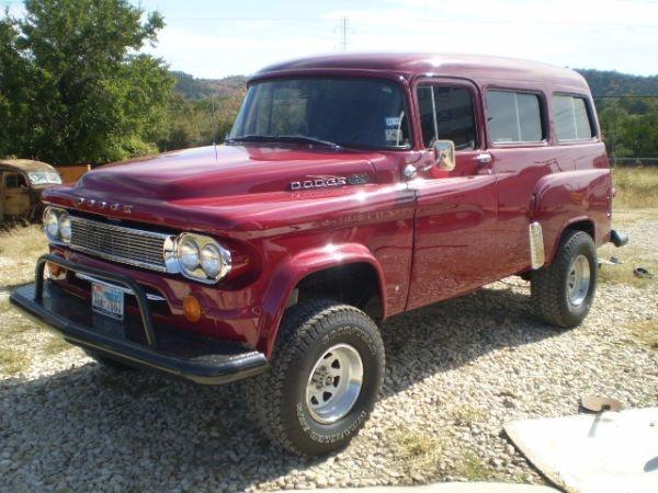 1964 Dodge Town WagonDodge 4X4, 4X4 S, 4X4 Town, 4X4S