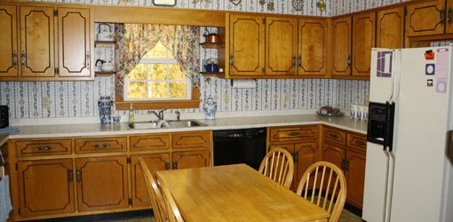 Dated 1960s Kitchen Before Remodeling Kitchen