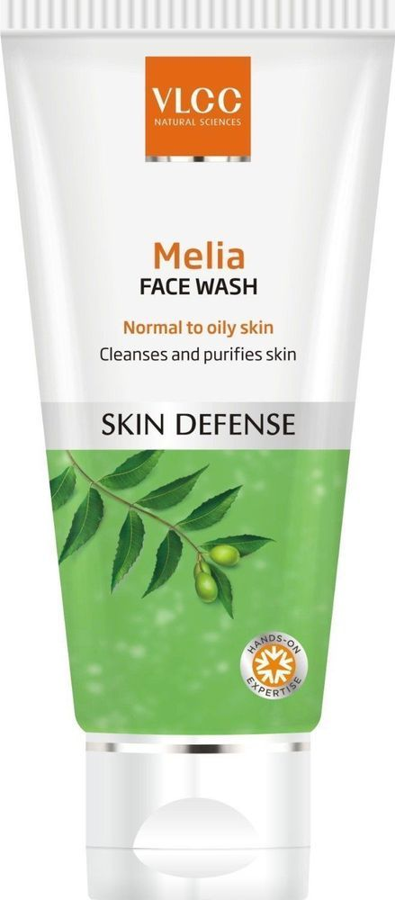 VLCC SKIN DEFENSE MELIA FACE WASH CLEANSES AND PURIFIES SKIN EFFECTIVELY 80 ML…