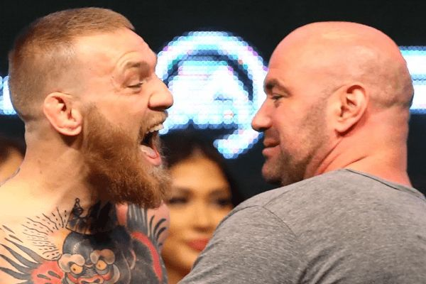 """Dana White says """"Yes I'm stripping Conor McGregor's Belt"""""""