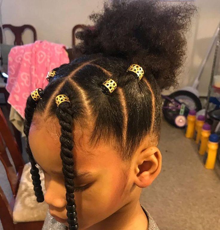 Tbt Naturalkidshairideas Teamnatural Blackgirlmagic Myhaircrus Little Girls Ponytail Hairstyles Little Girl Ponytails Black Kids Hairstyles