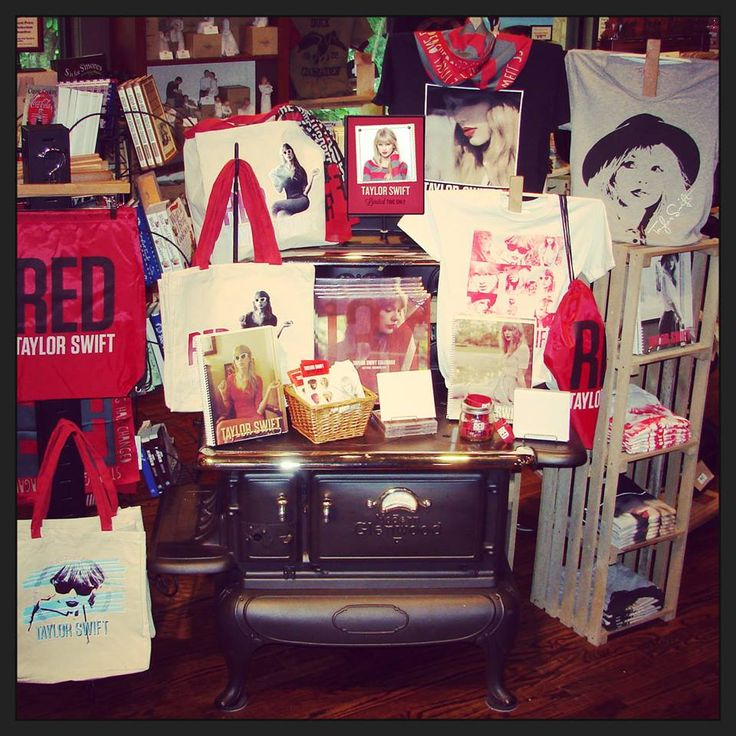 For a limited time only find Taylor Swift merchandise at all Cracker Barrel locations! / from https://www.facebook.com/CrackerBarrel