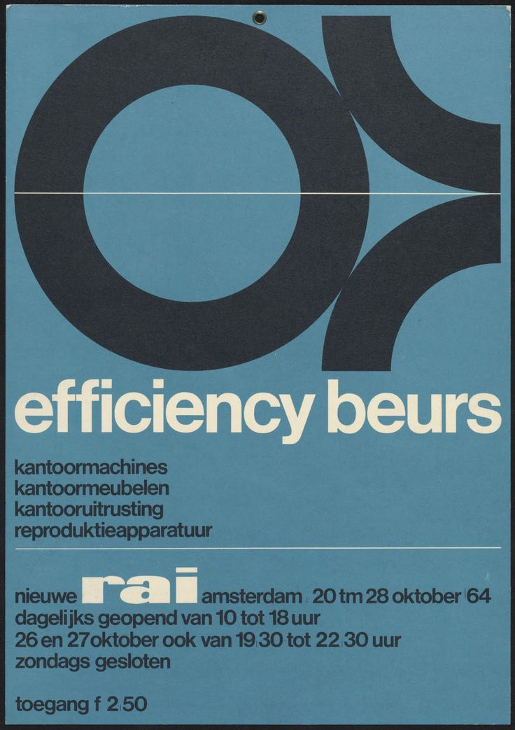 Wim Crouwel Poster Archive | WANKEN - The Art & Design blog of Shelby White
