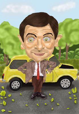 Mr. Bean - Pintura Digital