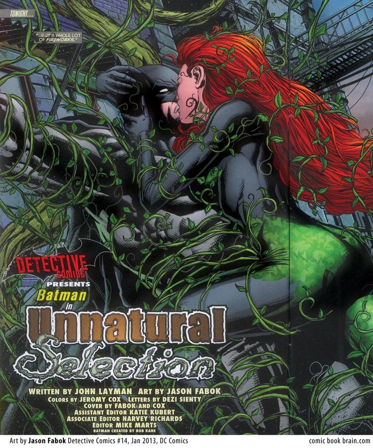 Poison Ivy in Detective Comics Vol 2 # 14 - Art by Jason ...