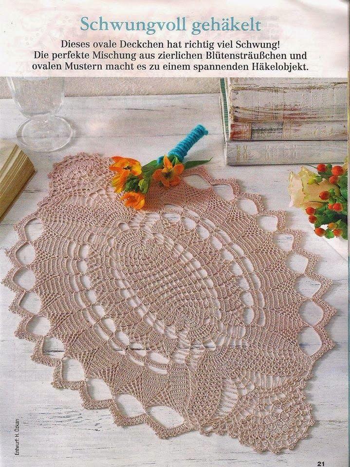 895 besten More crochet Bilder auf Pinterest | Häkelzierdeckchen ...