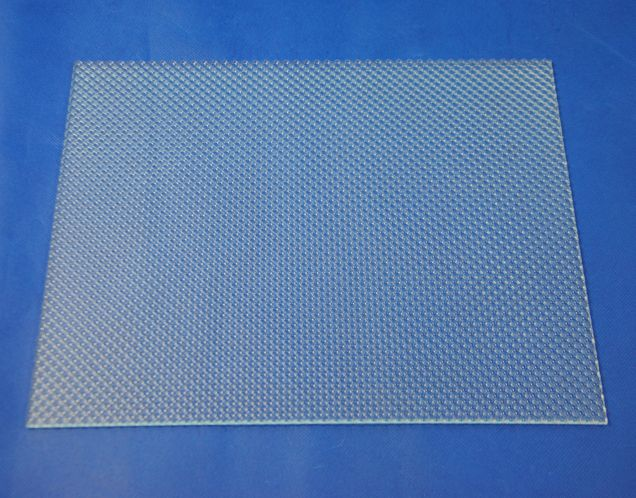 Prism Cone UGR diffuser with Concave hexagon,cone bottom,takes on homogeneous look due to unidirectional structure; http://www.chinaacrylicsheet.com/Prism_Cone_Acrylic_Diffuser_Sheet/Prism-Cone-UGR-Diffuser.html