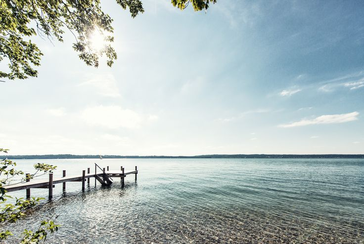 Starnberger See - privater Seezugang für Hotelgäste