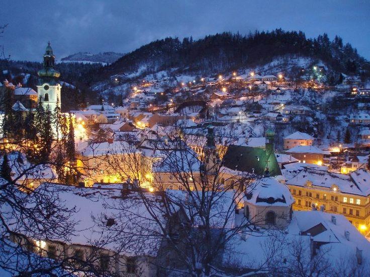 Banska Stiavnica - small mining town where my Grandparents live in Slovakia