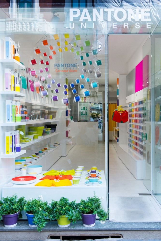 New Pantone Concept Store in Milan #colour @Lola M McGinnis COLOR